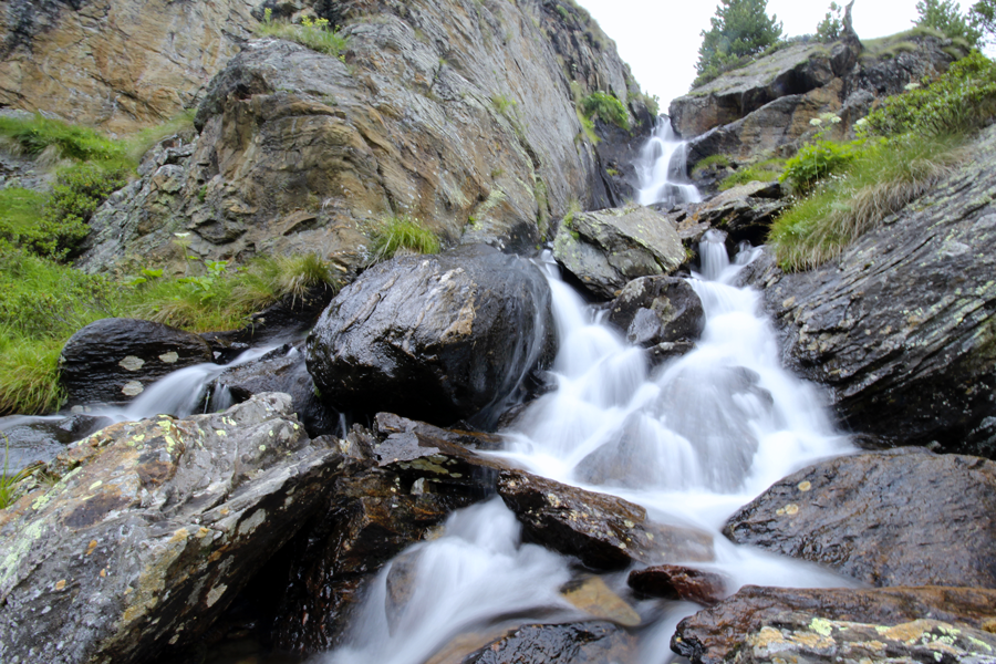 La presenza liquida in una montagna ferma